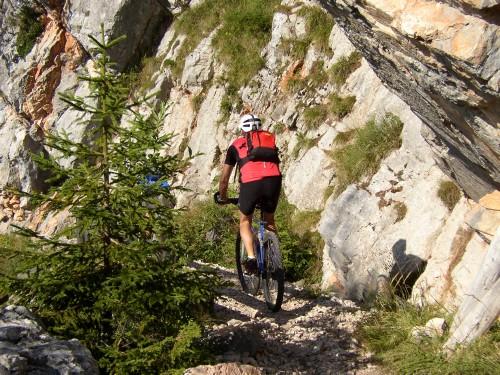 Foto: hofchri / Mountainbike Tour / Rund um das Lattengebirge über Moosenalm (1424 m) / 13.03.2009 19:19:29