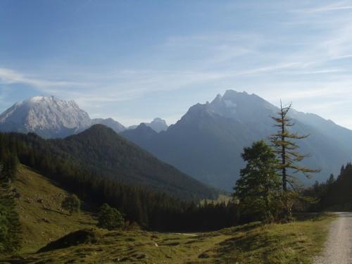 Foto: hofchri / Mountainbike Tour / Rund um das Lattengebirge über Moosenalm (1424 m) / Aussicht von der Modaualm (1190 m) / 13.03.2009 19:20:54