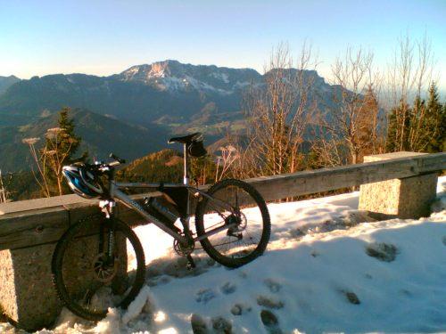 Foto: hofchri / Mountainbike Tour / Roßfeldstraße (1543 m) von Hallein / schöne Nachmittagstour mit Abendstimmung / 13.03.2009 19:32:48