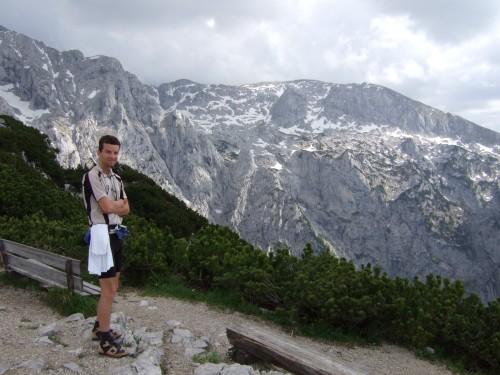 Foto: hofchri / Mountainbike Tour / Kehlstein (1837 m) von Berchtesgaden / am Kehlsteingipfel (1837 m) / 13.03.2009 19:35:58