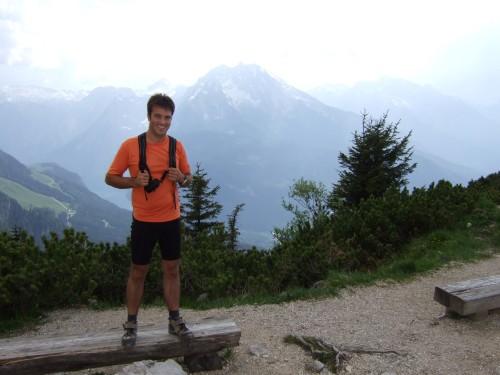 Foto: hofchri / Mountainbike Tour / Kehlstein (1837 m) von Berchtesgaden / wieder ein Berg bezwungen / 13.03.2009 19:36:24