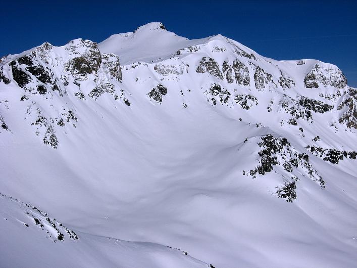 Foto: Andreas Koller / Ski Tour / Piz Tasna (3179m) und Piz Davo Lais (3027m) - Dreitausender über Scuol / Alles überragend: Piz Tasna / 15.03.2009 18:33:18