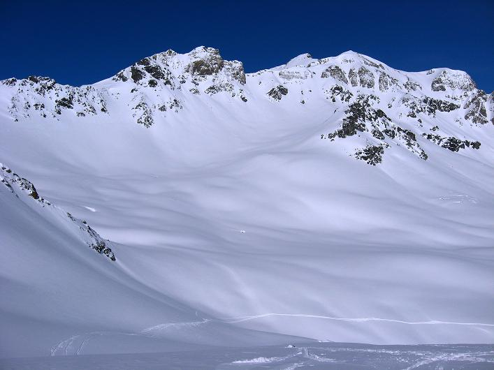 Foto: Andreas Koller / Ski Tour / Piz Tasna (3179m) und Piz Davo Lais (3027m) - Dreitausender über Scuol / 15.03.2009 18:32:46