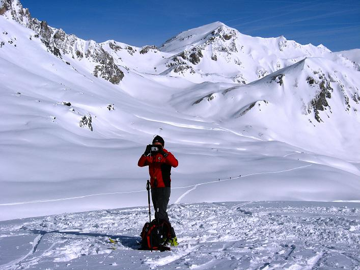 Foto: Andreas Koller / Ski Tour / Piz Tasna (3179m) und Piz Davo Lais (3027m) - Dreitausender über Scuol / 15.03.2009 18:32:40