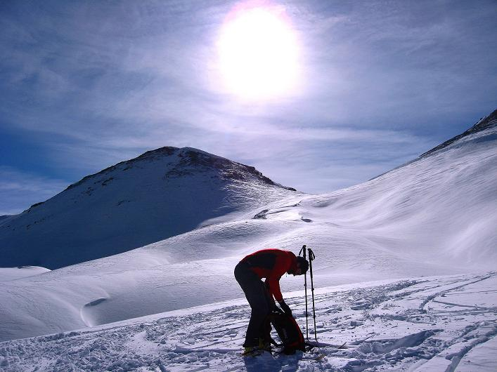 Foto: Andreas Koller / Ski Tour / Piz Tasna (3179m) und Piz Davo Lais (3027m) - Dreitausender über Scuol / 15.03.2009 18:32:25