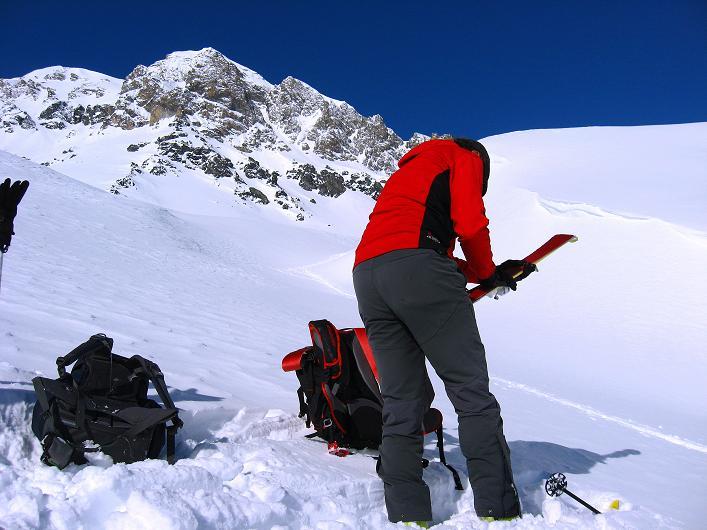 Foto: Andreas Koller / Ski Tour / Piz Tasna (3179m) und Piz Davo Lais (3027m) - Dreitausender über Scuol / 15.03.2009 18:32:02