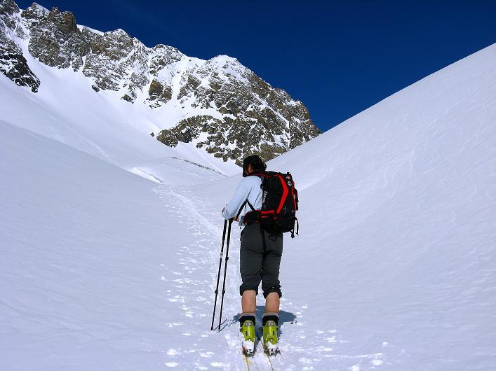 Foto: Andreas Koller / Ski Tour / Piz Tasna (3179m) und Piz Davo Lais (3027m) - Dreitausender über Scuol / 15.03.2009 18:31:55