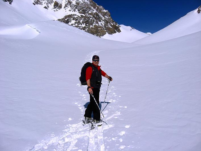 Foto: Andreas Koller / Ski Tour / Piz Tasna (3179m) und Piz Davo Lais (3027m) - Dreitausender über Scuol / 15.03.2009 18:31:48