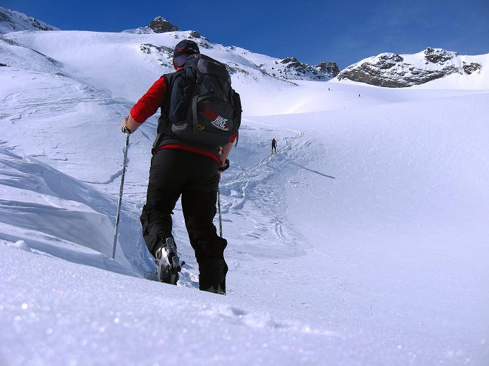 Foto: Andreas Koller / Ski Tour / Piz Tasna (3179m) und Piz Davo Lais (3027m) - Dreitausender über Scuol / 15.03.2009 18:29:54