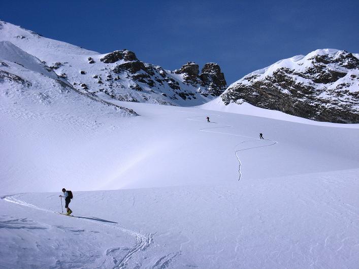Foto: Andreas Koller / Ski Tour / Piz Tasna (3179m) und Piz Davo Lais (3027m) - Dreitausender über Scuol / 15.03.2009 18:29:45