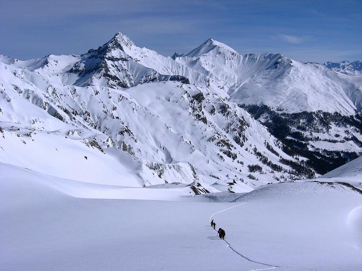 Foto: Andreas Koller / Ski Tour / Piz Tasna (3179m) und Piz Davo Lais (3027m) - Dreitausender über Scuol / 15.03.2009 18:29:38