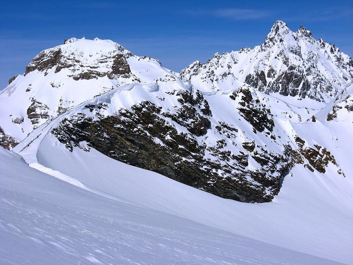 Foto: Andreas Koller / Ski Tour / Piz Tasna (3179m) und Piz Davo Lais (3027m) - Dreitausender über Scuol / Spitzige Krone (3188 m) und Fluchthorn (3399 m) / 15.03.2009 18:28:28