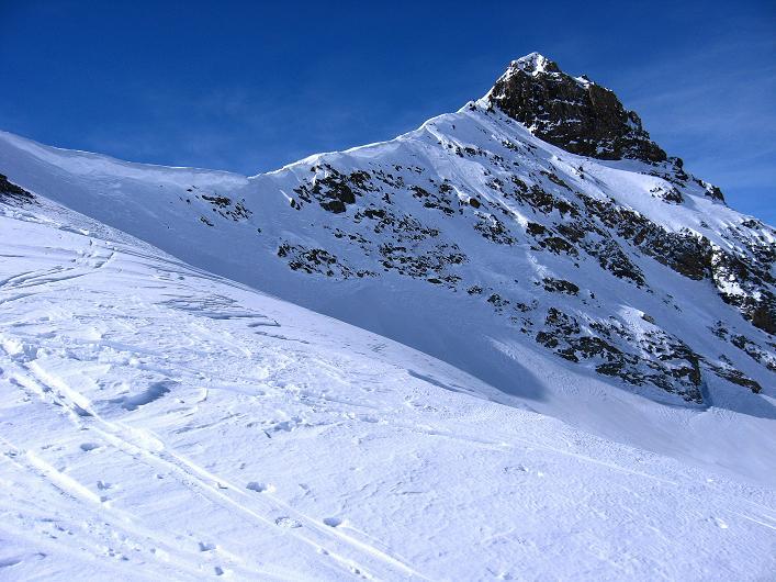 Foto: Andreas Koller / Ski Tour / Piz Tasna (3179m) und Piz Davo Lais (3027m) - Dreitausender über Scuol / Der Piz Tasna / 15.03.2009 18:26:33