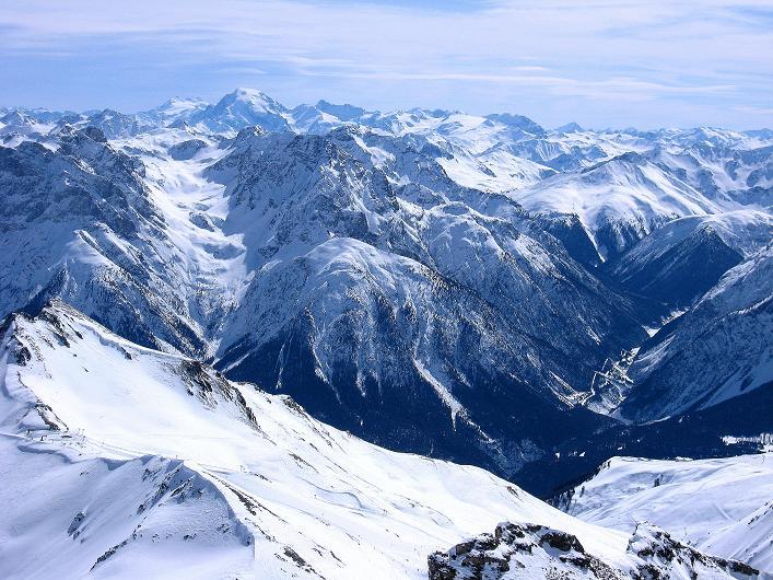 Foto: Andreas Koller / Ski Tour / Piz Tasna (3179m) und Piz Davo Lais (3027m) - Dreitausender über Scuol / König Ortler (3905 m) und seine Trabanten / 15.03.2009 18:23:33