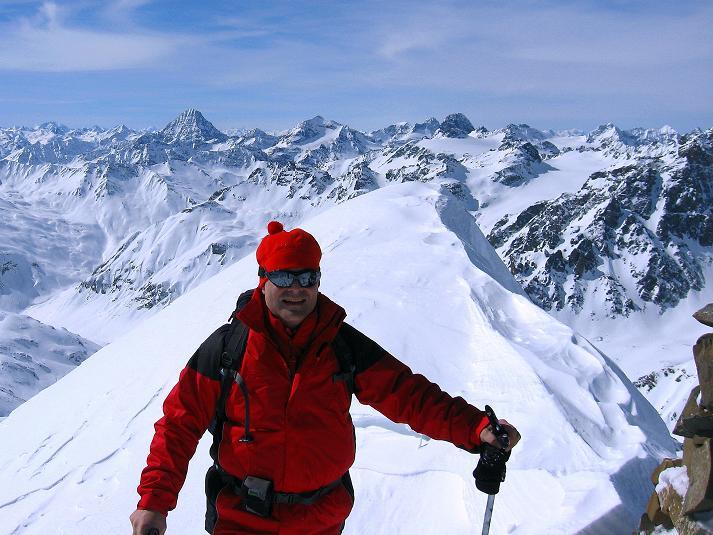 Foto: Andreas Koller / Ski Tour / Piz Tasna (3179m) und Piz Davo Lais (3027m) - Dreitausender über Scuol / 15.03.2009 18:22:24