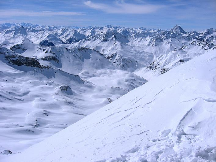 Foto: Andreas Koller / Ski Tour / Piz Tasna (3179m) und Piz Davo Lais (3027m) - Dreitausender über Scuol / 15.03.2009 18:21:24