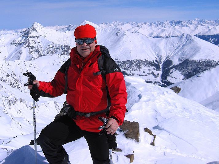 Foto: Andreas Koller / Ski Tour / Piz Tasna (3179m) und Piz Davo Lais (3027m) - Dreitausender über Scuol / 15.03.2009 18:21:12