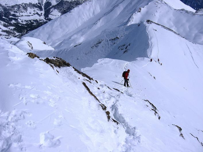 Foto: Andreas Koller / Ski Tour / Piz Tasna (3179m) und Piz Davo Lais (3027m) - Dreitausender über Scuol / 15.03.2009 18:20:39