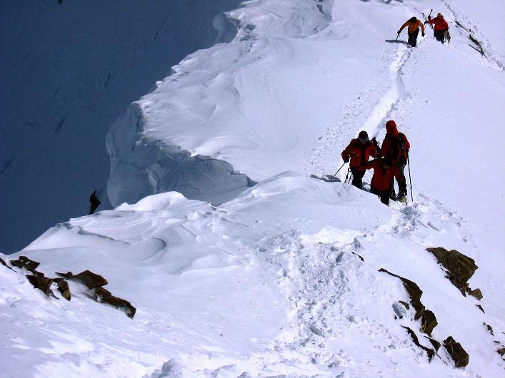 Foto: Andreas Koller / Ski Tour / Piz Tasna (3179m) und Piz Davo Lais (3027m) - Dreitausender über Scuol / 15.03.2009 18:20:28