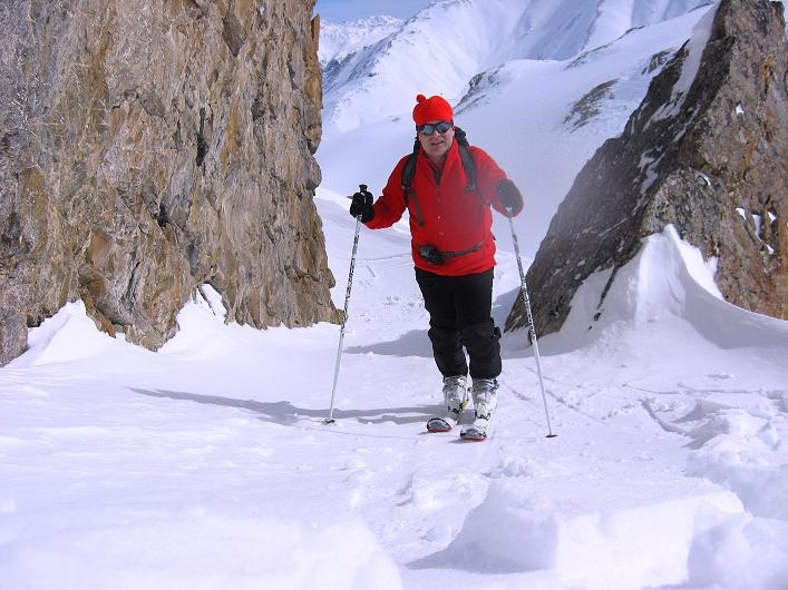 Foto: Andreas Koller / Ski Tour / Piz Tasna (3179m) und Piz Davo Lais (3027m) - Dreitausender über Scuol / 15.03.2009 18:14:53