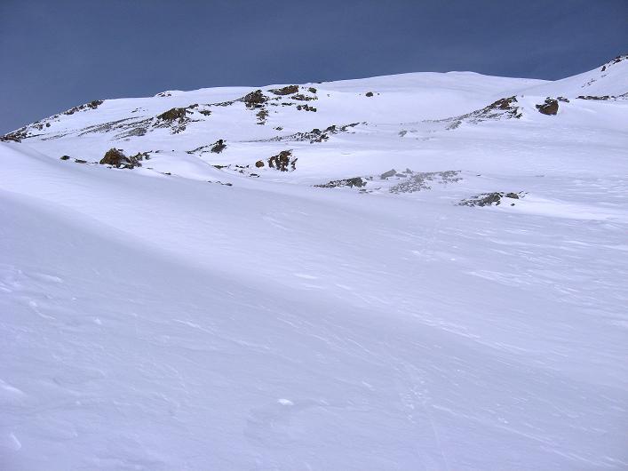Foto: Andreas Koller / Ski Tour / Piz Tasna (3179m) und Piz Davo Lais (3027m) - Dreitausender über Scuol / Die mittelsteilen Hänge des Piz Davo Lais / 15.03.2009 18:14:34
