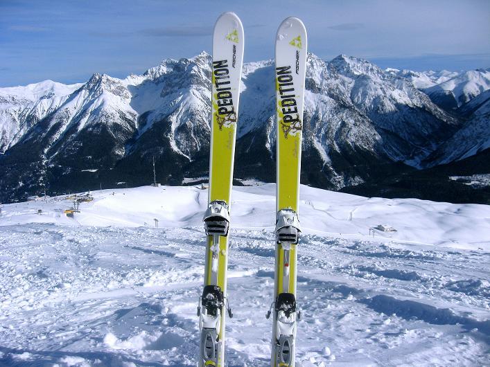 Foto: Andreas Koller / Ski Tour / Piz Tasna (3179m) und Piz Davo Lais (3027m) - Dreitausender über Scuol / 15.03.2009 18:12:38