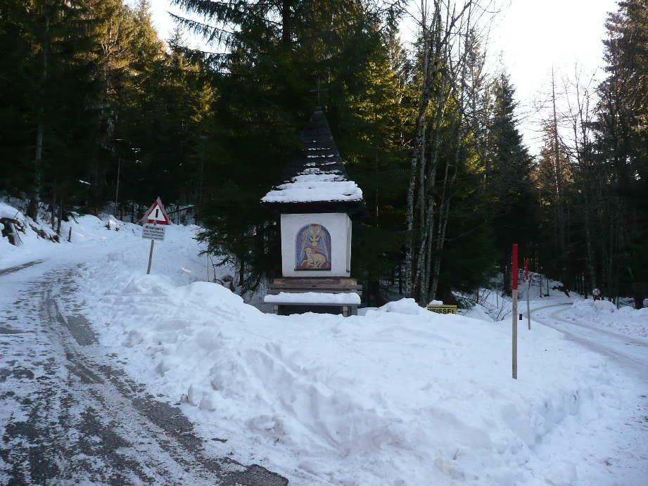 Foto: Sturmi / Schneeschuh Tour / Mayrwipfel (1736m) / Ausgangspunkt - Muttling / 16.03.2009 08:48:28