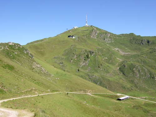 Foto: hofchri / Mountainbike Tour / Kitzbüheler Horn (1996 m) und Lachtalalm (1673 m) / vom Hornköpfel zum Kitzbüheler Horn / 18.03.2009 19:40:35