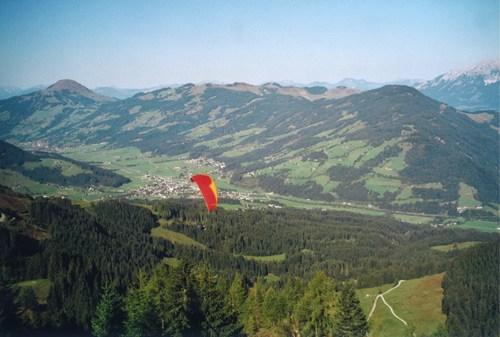 Foto: hofchri / Mountainbike Tour / Steinbergkogel (1972 m) über Hahnenkamm (1650 m) / 18.03.2009 19:48:19