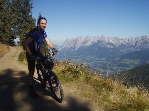 Foto: hofchri / Mountainbike Tour / Hochgründeck (1827 m) von St. Johann / bei der steilen Auffahrt / 19.03.2009 21:53:17