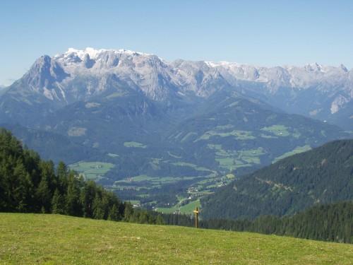 Foto: hofchri / Mountainbike Tour / Bischlinghöhe (1834 m) von Pfarrwerfen / 20.03.2009 19:19:59