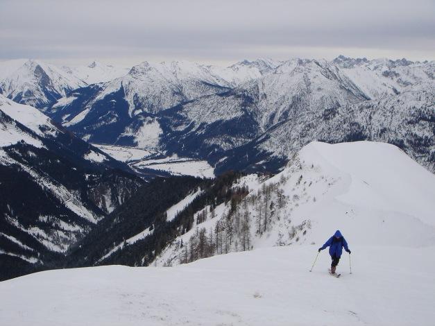 Foto: Manfred Karl / Ski Tour / Auf der Mutte (2187m) / Kurz unterhalb des Gipfels / 26.03.2009 20:26:30