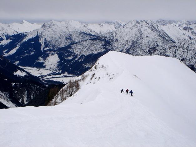Foto: Manfred Karl / Ski Tour / Auf der Mutte (2187m) / Gleichschwung / 26.03.2009 20:25:49