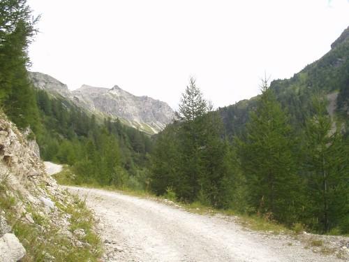 Foto: hofchri / Mountainbike Tour / Oberhüttensee (1869 m) über Vögeialm / kurz vor dem Oberhüttensee / 02.04.2009 20:27:53