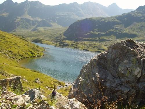 Foto: hofchri / Mountainbike Tour / Giglachseen (1986 m) über Ursprungalm / Blick zu den Seen hinunter / 02.04.2009 20:52:29