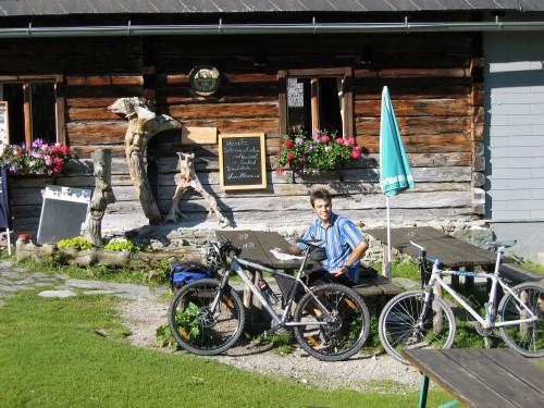 Foto: hofchri / Mountainbike Tour / Giglachseen (1986 m) über Ursprungalm / urige Einkehr auf der Alm / 02.04.2009 20:49:34