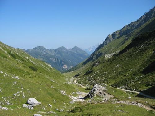 Foto: hofchri / Mountainbike Tour / Giglachseen (1986 m) über Ursprungalm / Blick aus dem Tal / 02.04.2009 20:50:19