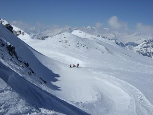 Foto: hofchri / Ski Tour / Hohe Fürleg (2943m),  Stubacher Sonnblick (3088m) und Granatspitze (3086m) vom Enzingerboden / 08.04.2009 21:03:19