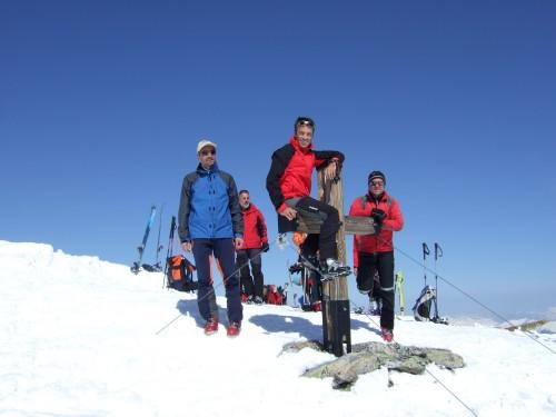 Foto: hofchri / Ski Tour / Hohe Fürleg (2943m),  Stubacher Sonnblick (3088m) und Granatspitze (3086m) vom Enzingerboden / 08.04.2009 21:03:55