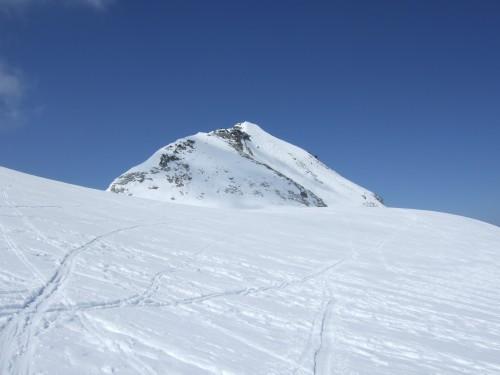 Foto: hofchri / Ski Tour / Hohe Fürleg (2943m),  Stubacher Sonnblick (3088m) und Granatspitze (3086m) vom Enzingerboden / Blick zurück nach der Abfahrt vom Stubacher Sonnblick / 08.04.2009 21:07:17