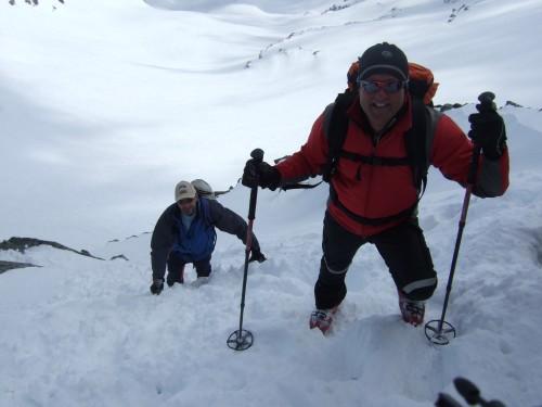 Foto: hofchri / Ski Tour / Hohe Fürleg (2943m),  Stubacher Sonnblick (3088m) und Granatspitze (3086m) vom Enzingerboden / Gipfelanstieg mit leichter Kletterei (Fels und Schnee bzw. Eis) / 08.04.2009 21:08:10