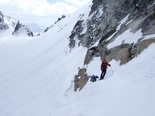 Foto: hofchri / Ski Tour / Hohe Fürleg (2943m),  Stubacher Sonnblick (3088m) und Granatspitze (3086m) vom Enzingerboden / Abfahrt über das Granatspitzkees / 08.04.2009 21:09:17