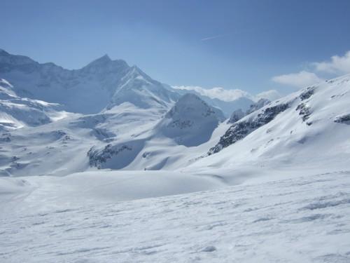Foto: hofchri / Ski Tour / Hohe Fürleg (2943m),  Stubacher Sonnblick (3088m) und Granatspitze (3086m) vom Enzingerboden / 08.04.2009 21:02:25