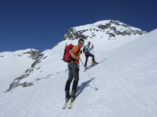 Foto: hofchri / Ski Tour / Hohe Fürleg (2943m),  Stubacher Sonnblick (3088m) und Granatspitze (3086m) vom Enzingerboden / 08.04.2009 21:02:47