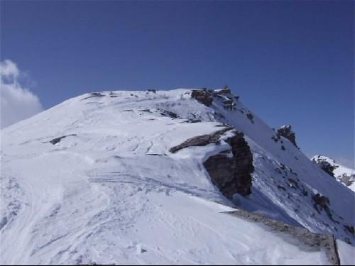 Foto: hofchri / Ski Tour / Hohe Fürleg (2943m),  Stubacher Sonnblick (3088m) und Granatspitze (3086m) vom Enzingerboden / im Gipfelbereich / 08.04.2009 21:03:04