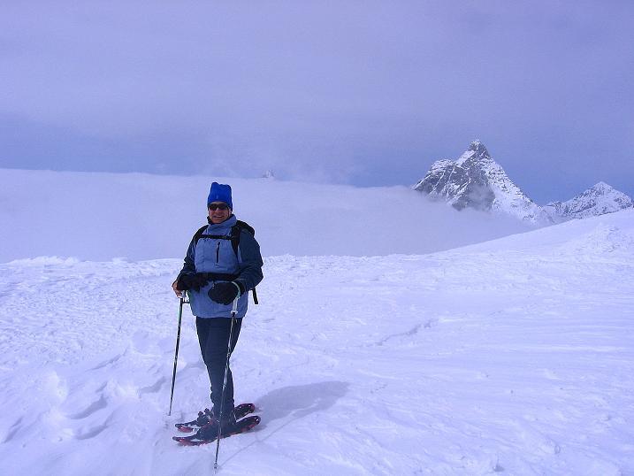 Foto: Andreas Koller / Schneeschuh Tour / Panorama-Schneeschuhtour auf die Gobba di Rollin (3899 m) / 15.04.2009 23:49:47