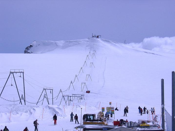 Foto: Andreas Koller / Schneeschuh Tour / Panorama-Schneeschuhtour auf die Gobba di Rollin (3899 m) / Rückblick auf die Gobba di Rollin / 15.04.2009 23:46:18