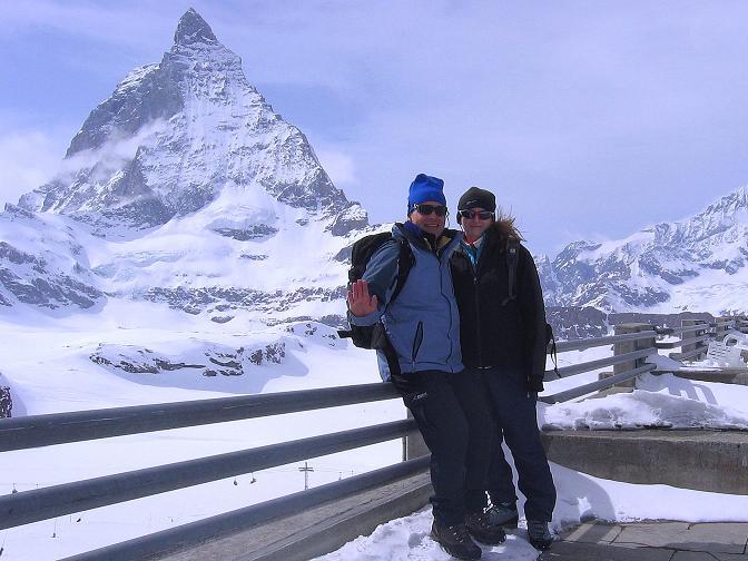 Foto: Andreas Koller / Schneeschuh Tour / Panorama-Schneeschuhtour auf die Gobba di Rollin (3899 m) / 15.04.2009 23:44:00