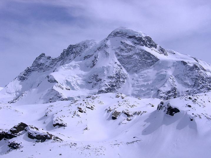 Foto: Andreas Koller / Schneeschuh Tour / Panorama-Schneeschuhtour auf die Gobba di Rollin (3899 m) / Breithorn (4164 m) / 15.04.2009 23:42:14