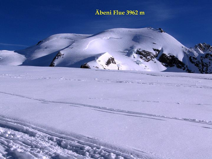 Foto: Andreas Koller / Ski Tour / Berner Alpen Durchquerung 2: Äbeni Flue (3962m) / 17.04.2009 23:00:56